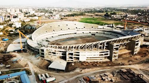 エチオピア|アジスアベバの新スタジアム