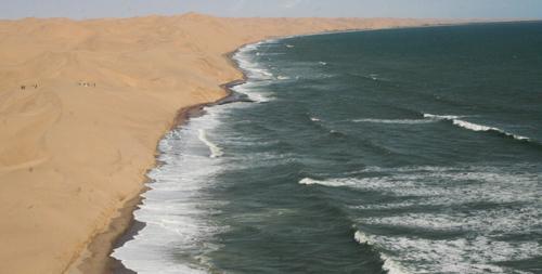 スワコプムント|砂丘と海