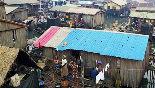 アフリカでのドローン|ナイジェリアのスラム