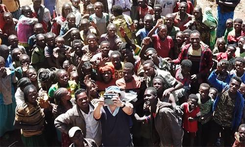 アフリカでのドローン|エチオピアの村