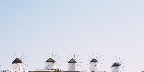 ミコノス島|風車