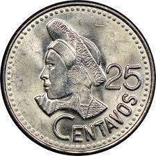 25センターボ硬貨|グアテマラでの撮影